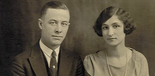 Herbert Worcester Dezell and Ruth Georgine Freistedt